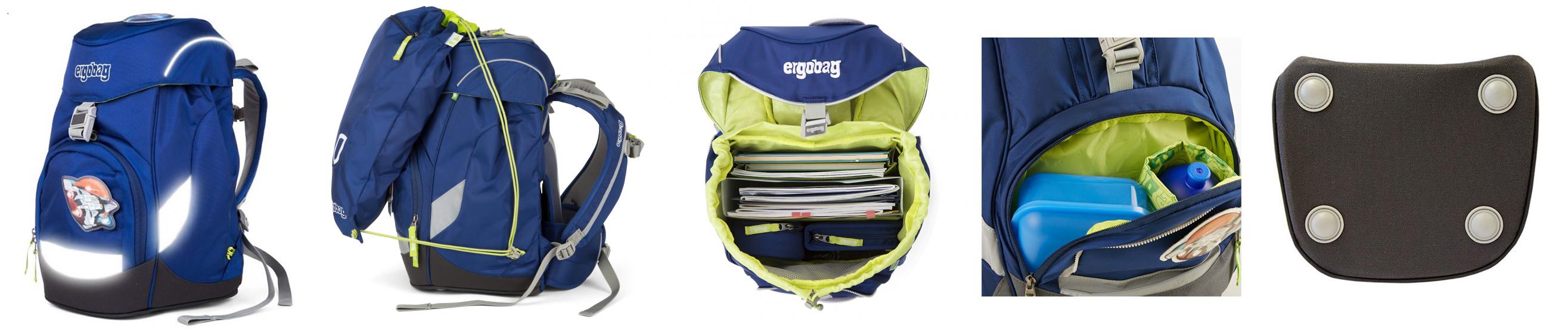 167799f3e548 Ergobag Prime školská taška Pearl DiveBear